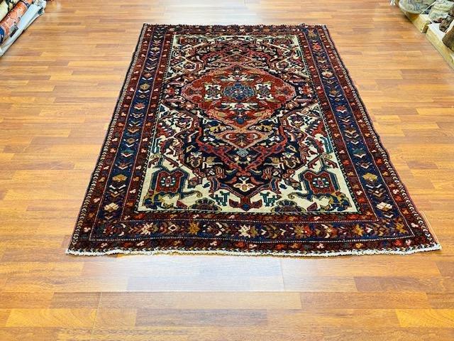 Antique persian Bakhtiari rug-3296