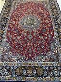 Very Fine Semi Antique Hand Woven Persian ESfahan