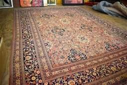 Antique Hand Woven Persian Tabriz 132x102