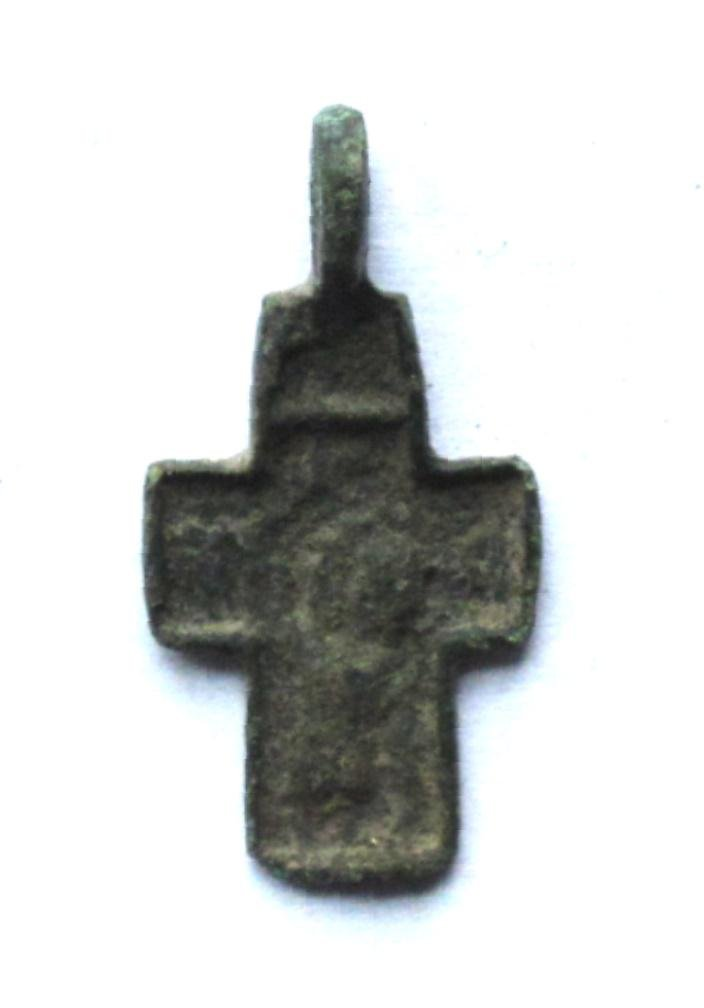 Russian 15th Century Child Cross. Very Rare Saint
