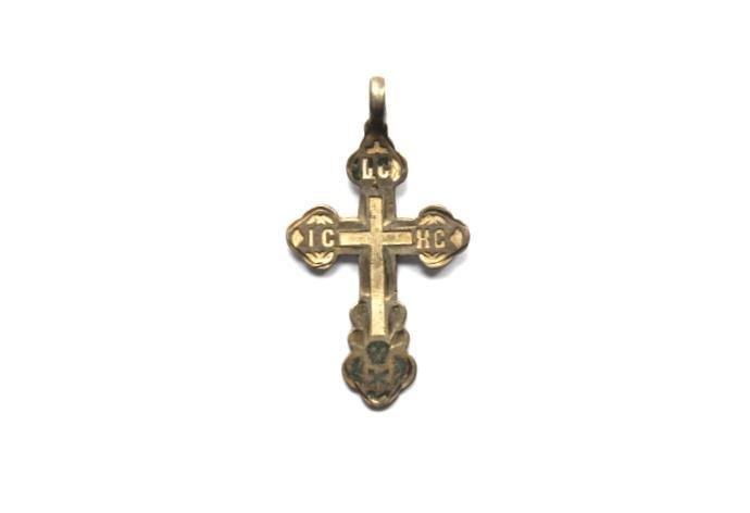 Russian Silver Cross, Silver Master Ignaty Fedorov