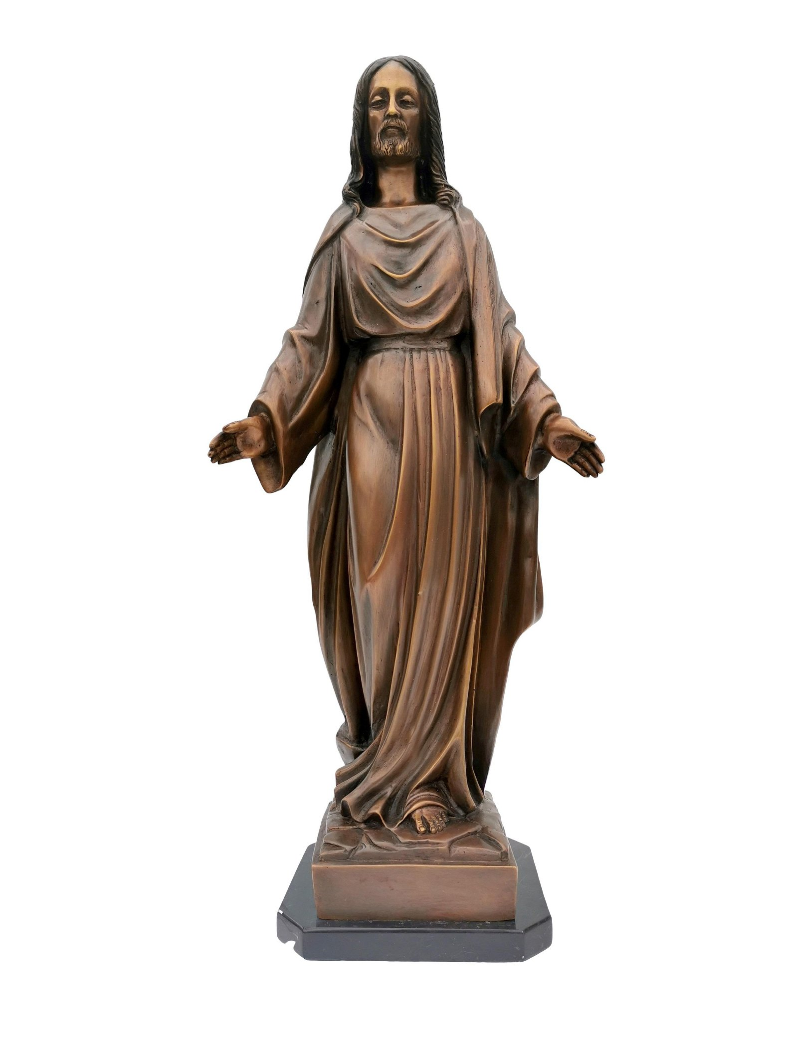 Large bronze sculpture of Jesus our lord - Messiah