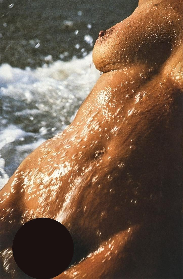 Lucien Clergue, Nude at Beach, Camargue, 1990