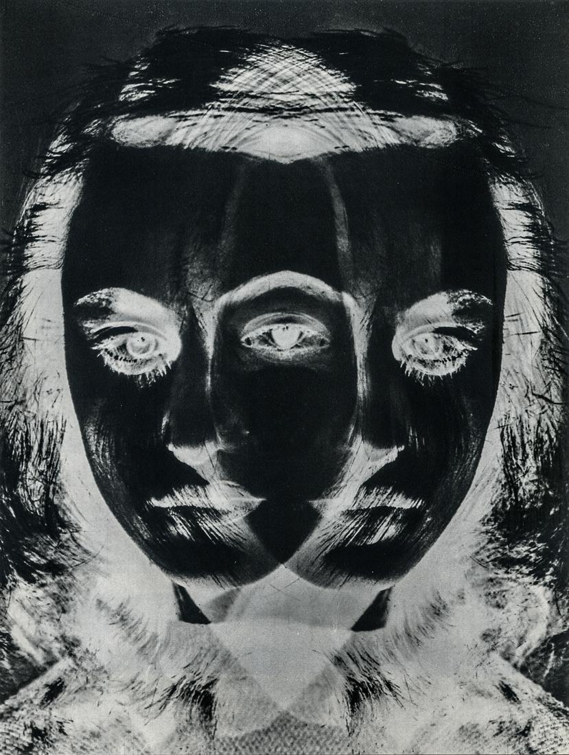 Otto Steinert, Mask of a Dancer, 1952