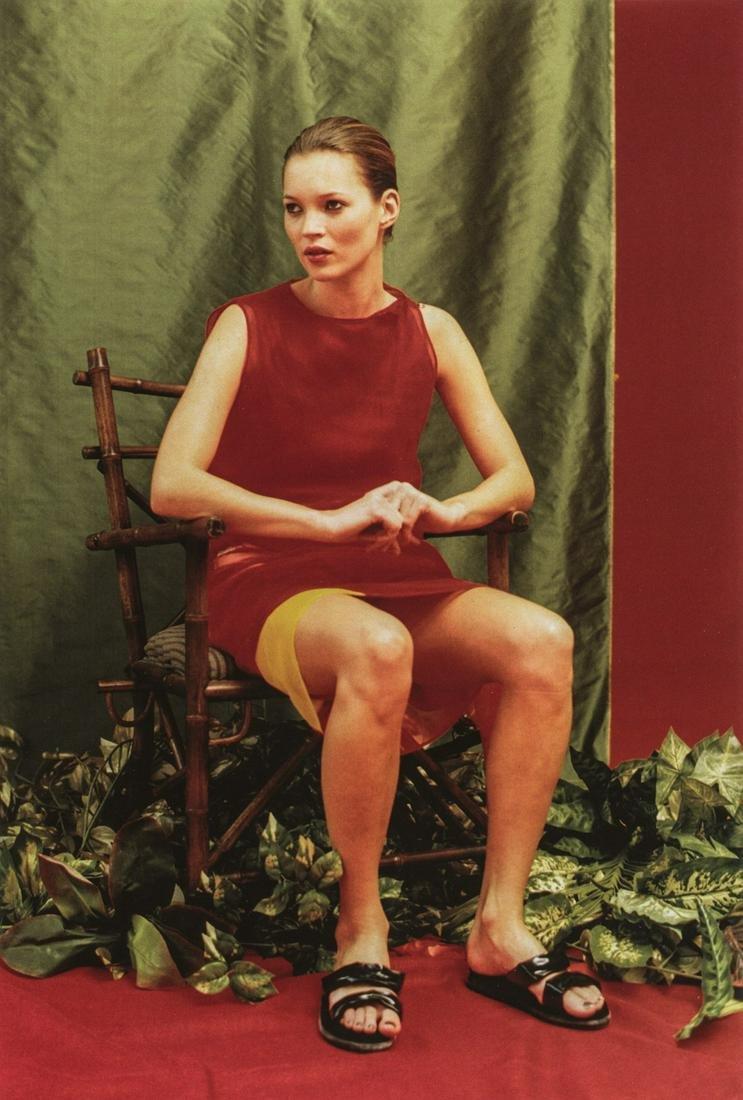 Wolfgang Tillmans, Kate Sitting, 1996