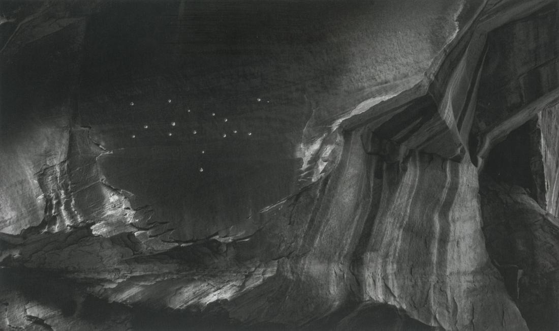 Minor White, Bullet Holes, Capitol Reef, Utah, 1961