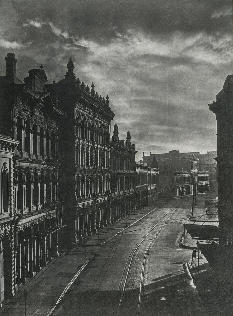 Minor White, Front Street, Portland, Oregon, 1909