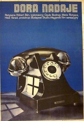 1979 Polish Poster - Dora Nadaje - Cool Artwork Of A