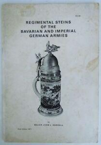 REGIMENTAL STEINS BAVARIAN IMPERIAL GERMAN ARMIES