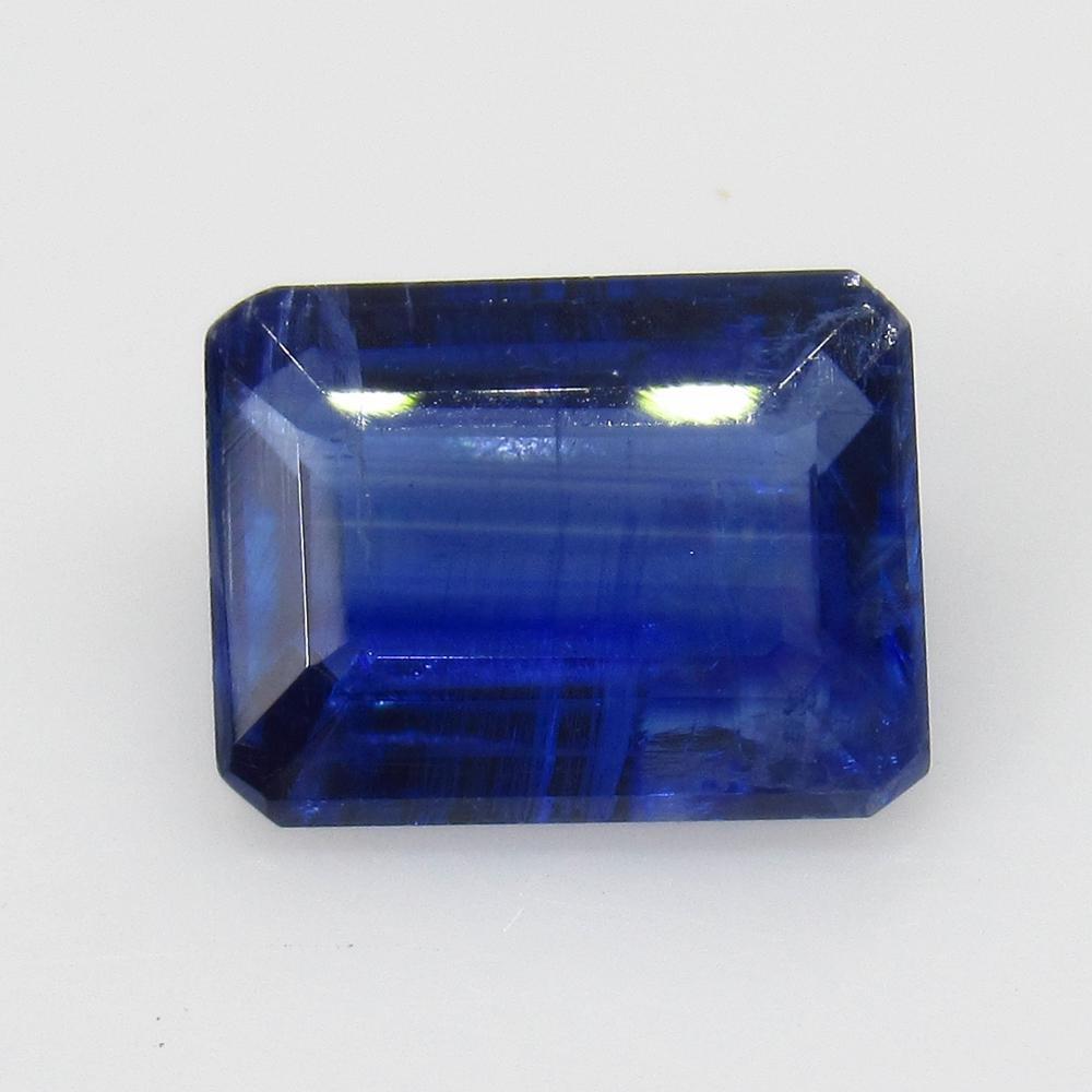 2.44 Ct Natural Blue Kyanite Octagon Cut