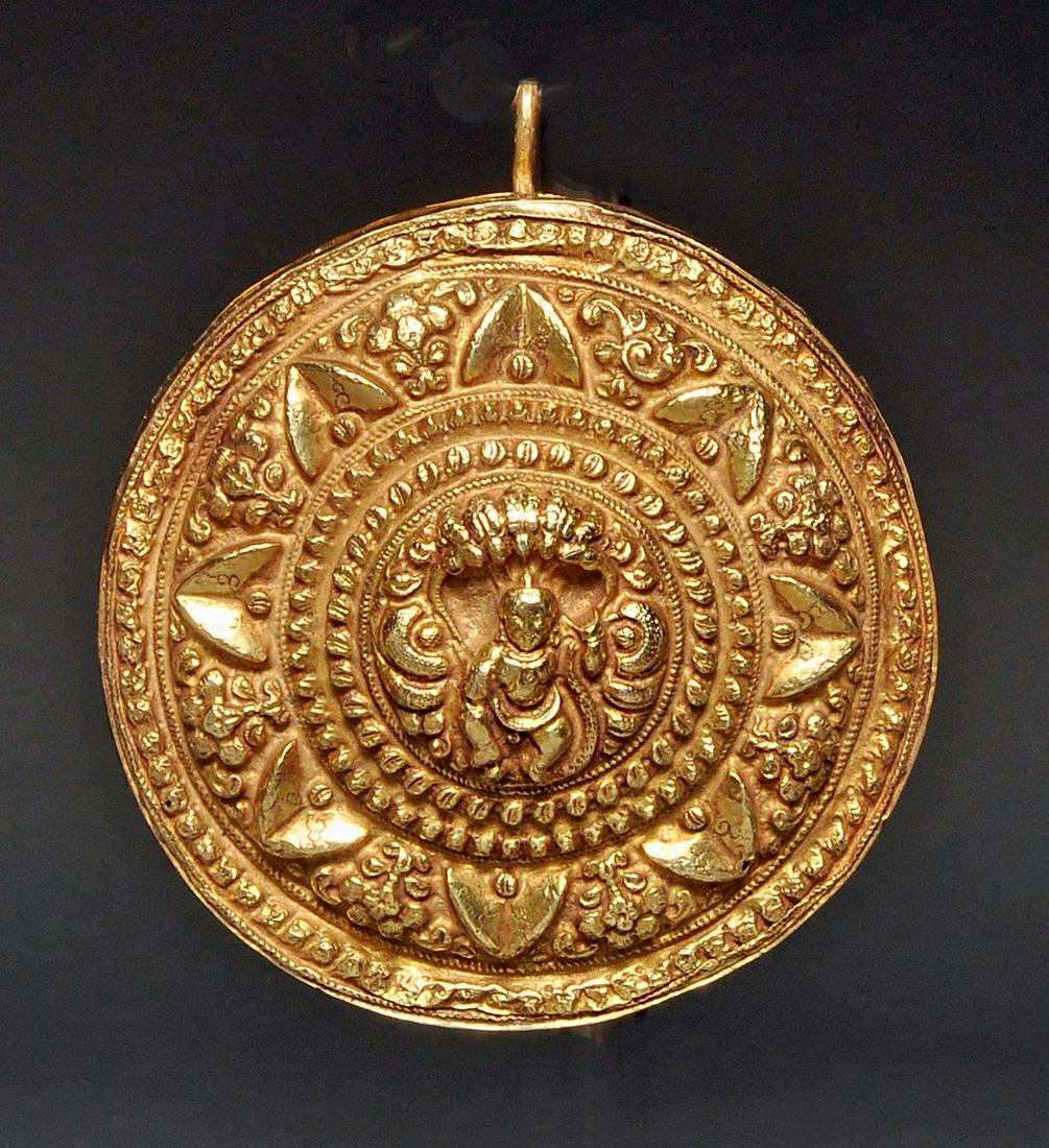 India Gold - Hair Ornament