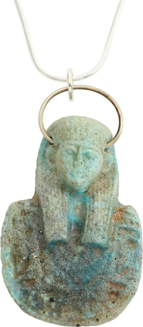 EGYPTIAN GRAND TOUR AMULET, 17th-18th CENTURY