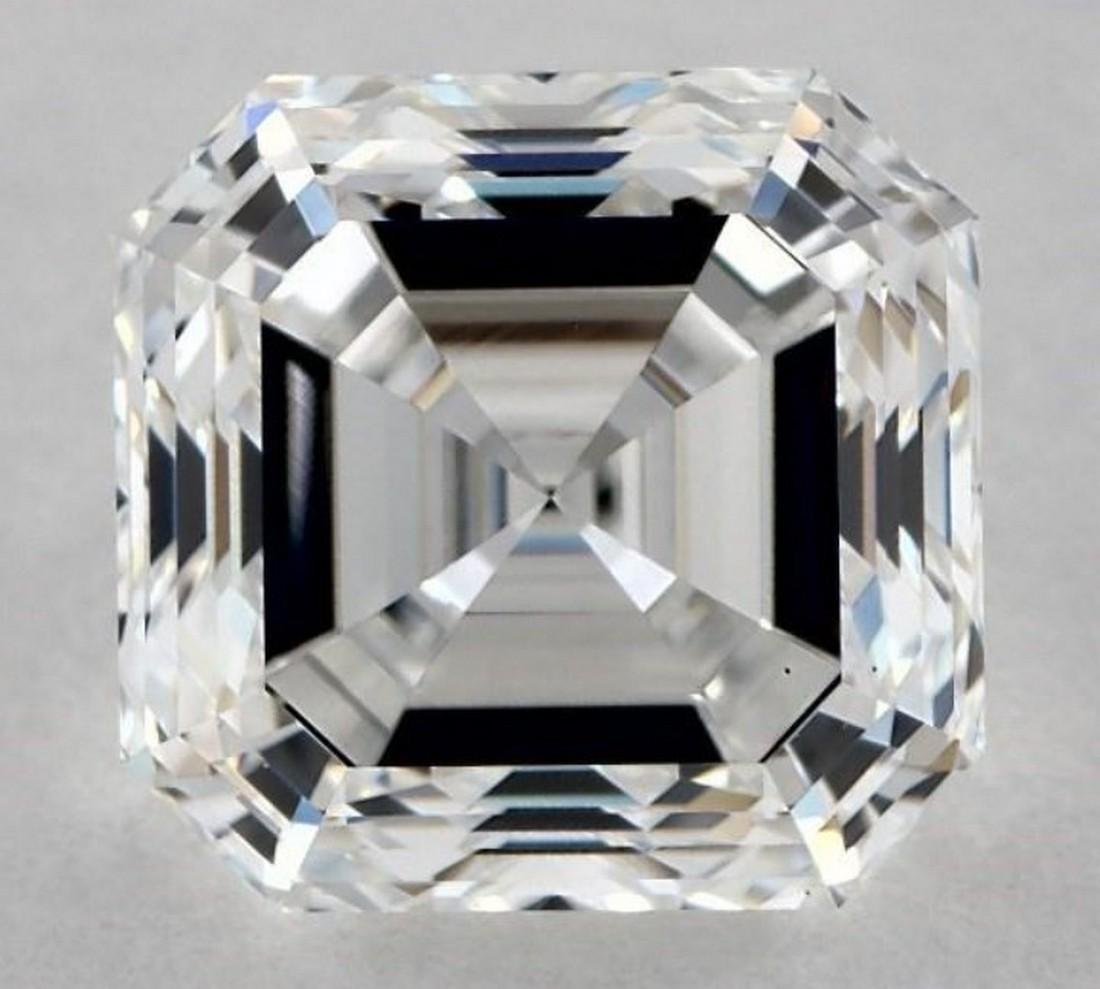 GIA CERT 2.02 CTW SQUARE EMERALD DIAMOND EVS1