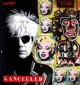 JM, Pajares: New York, Warhol; Marilyn, Basquiat