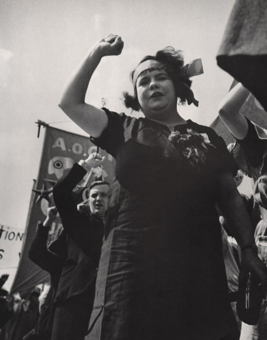 KERTESZ - The Popular Front, 1934