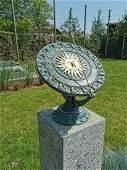 Bronze Sundial - Garden sculpture - Armillary