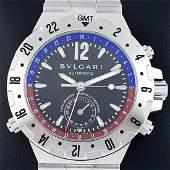 Bulgari - Diagono Professional GMT - ref: GMT 40 S -