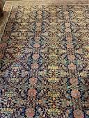 Semi Antique Hand Woven Persian Bijar 85x115