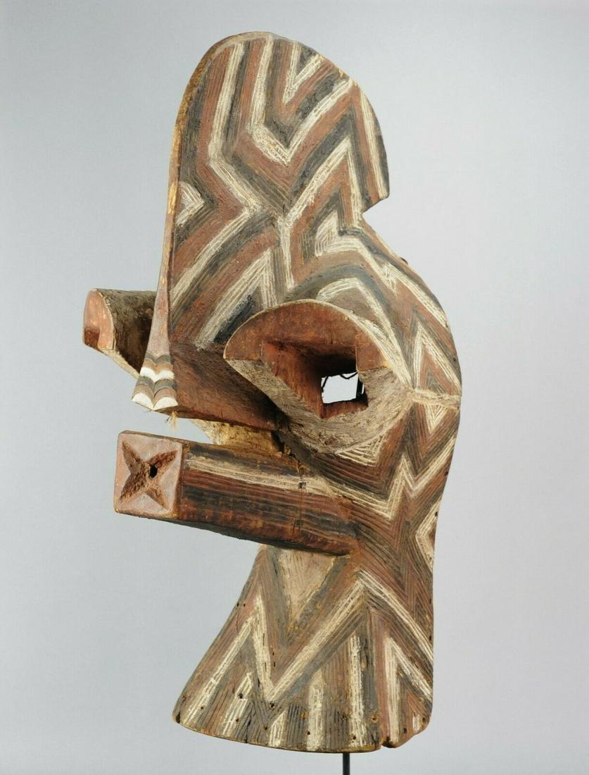 Superb SONGYE KIFWEBE Wood Mask good Provenance Congo