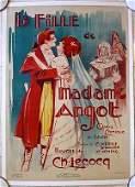 Reduced 70!! La Fille De Madame Angot 1925 French Comic