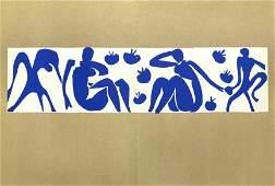 "Henri Matisse lithograph ""Femmes et singes"""