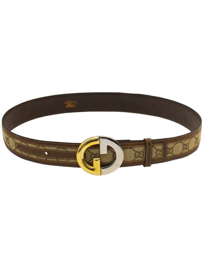 Gucci Monogram Belt