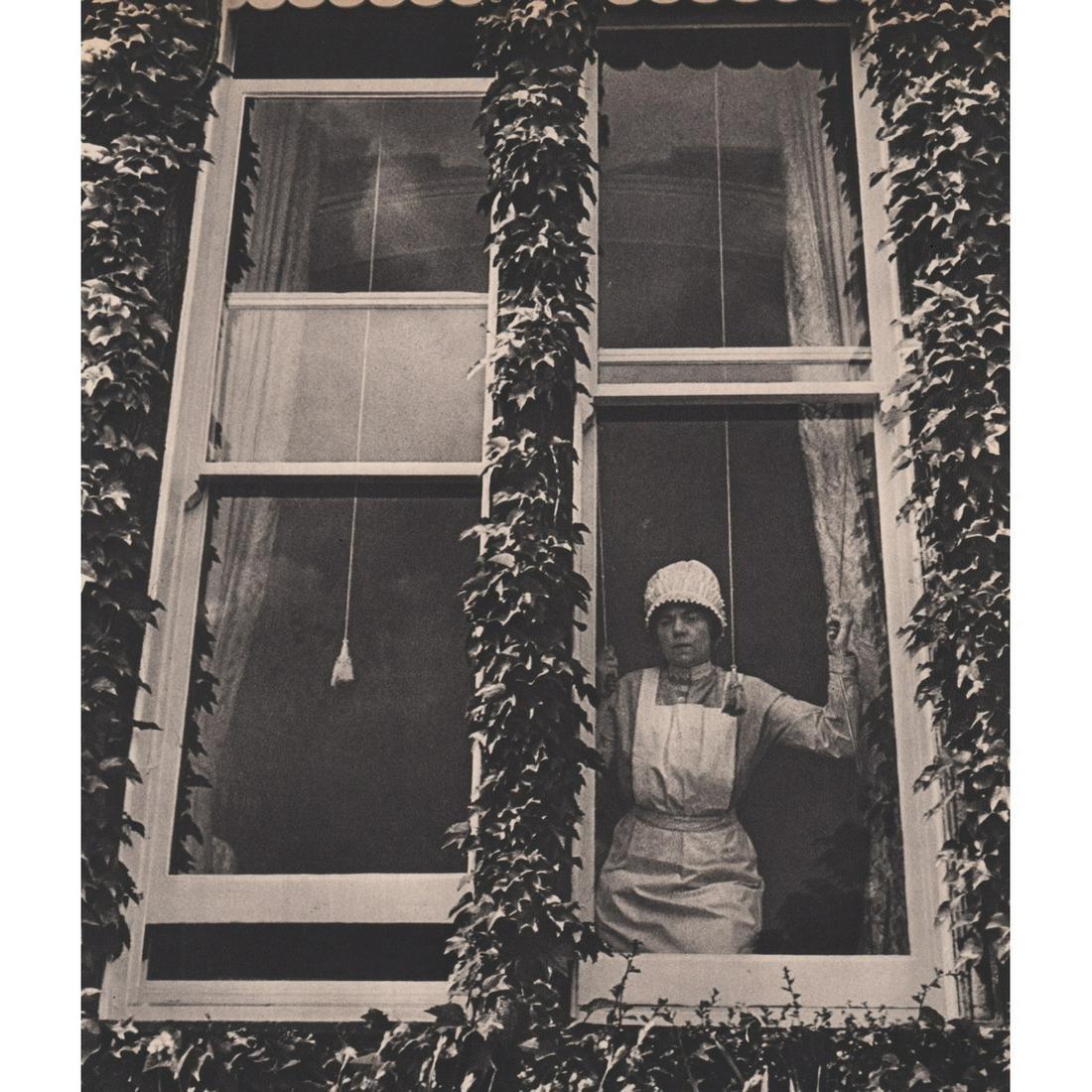 BILL BRANDT - Parlourmaid At a Window
