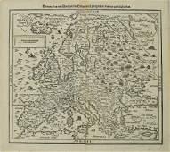 1598 Munster / Petri Map of Europe -- Europa das ein