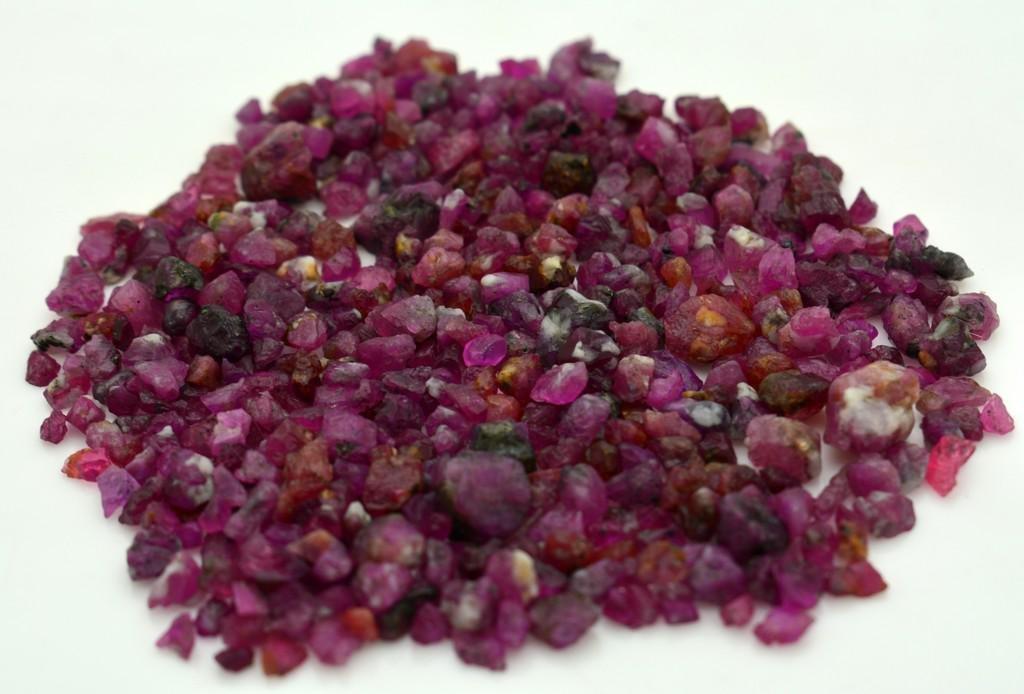 35 Grams Beautiful Rough Ruby Lot