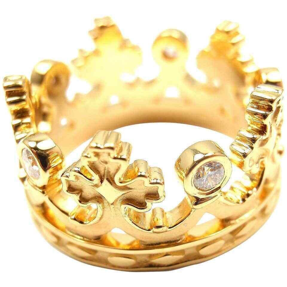 Carrera Y Carrera Mi Princes Spanish Crown Diamond 18k