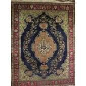 "Authentic Vintage Persian Tabriz Rug 8'4"" X 4'1"""