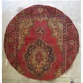 "Authentic Vintage Persian Tabriz Rug 8'2"" X 5'1"