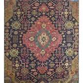 "Authentic Vintage Persian Tabriz Rug 11'10"" X 8'6"""