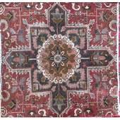 "Authentic Vintage Persian Tabriz Rug 6'12"" X 4'3"""