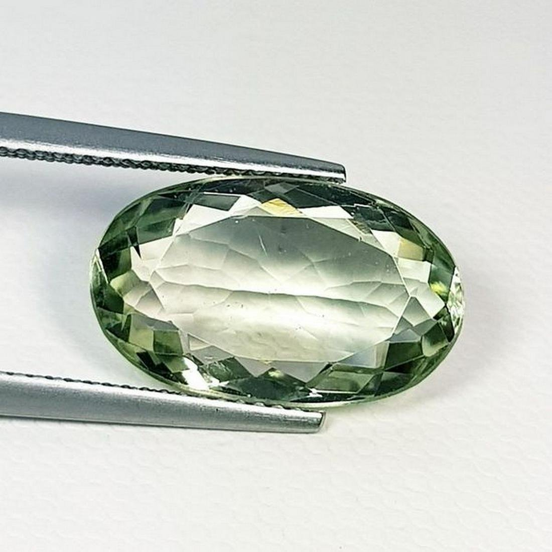 Natural Green Amethyst Oval Cut 7.80 ct