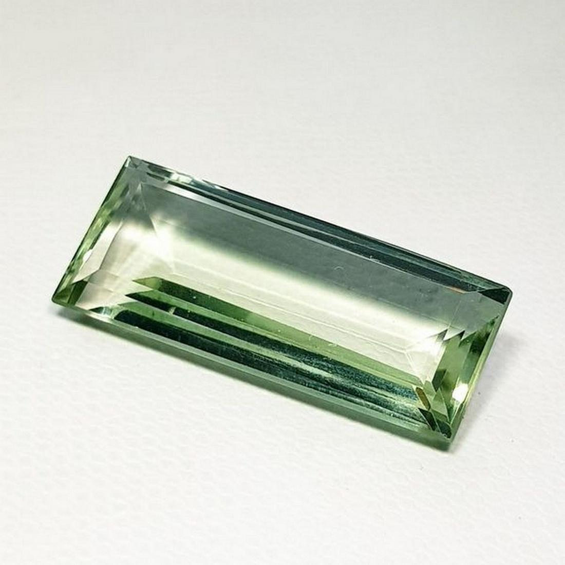 Natural Green Amethyst Emerald Cut 20.22 ct