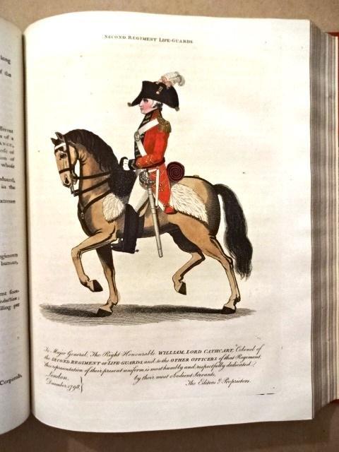 1799 FINE BINDING British Military Library