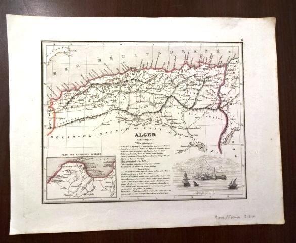 Three 19th C Maps Africa Barbary