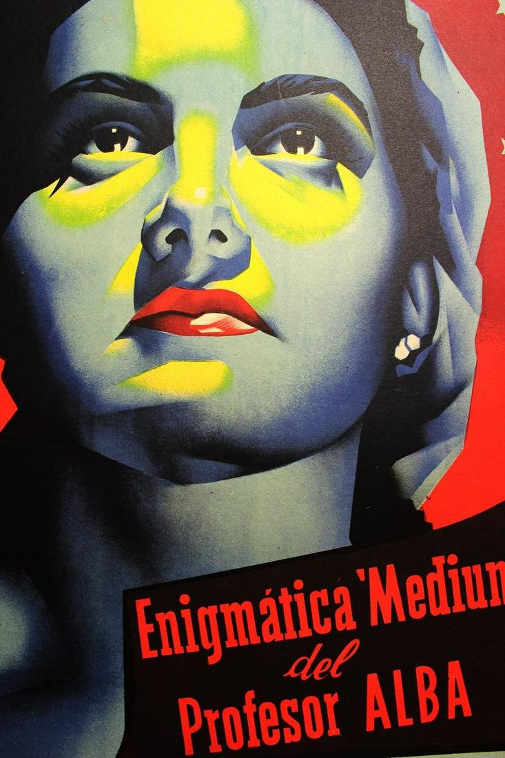 "Yu Li San (Spain, 1959) Magician Movie Poster 20"" x 27"""