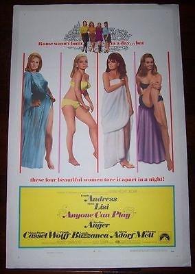 Anyone Can Play '68 Lb 1 Sh ~ Super Hot Ursula Andress