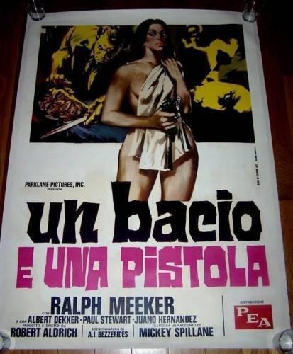 Linen Backed Kiss Me Deadly '55 Italian 39x55 Meeker