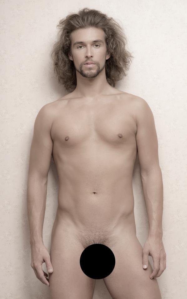 Ewoud Broeksma (1957-2019) 'Model on my way' Nude Male