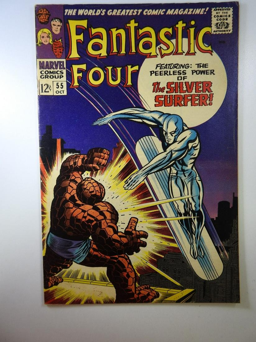 Fantastic Four #55 4th appearance of Silver Surfer