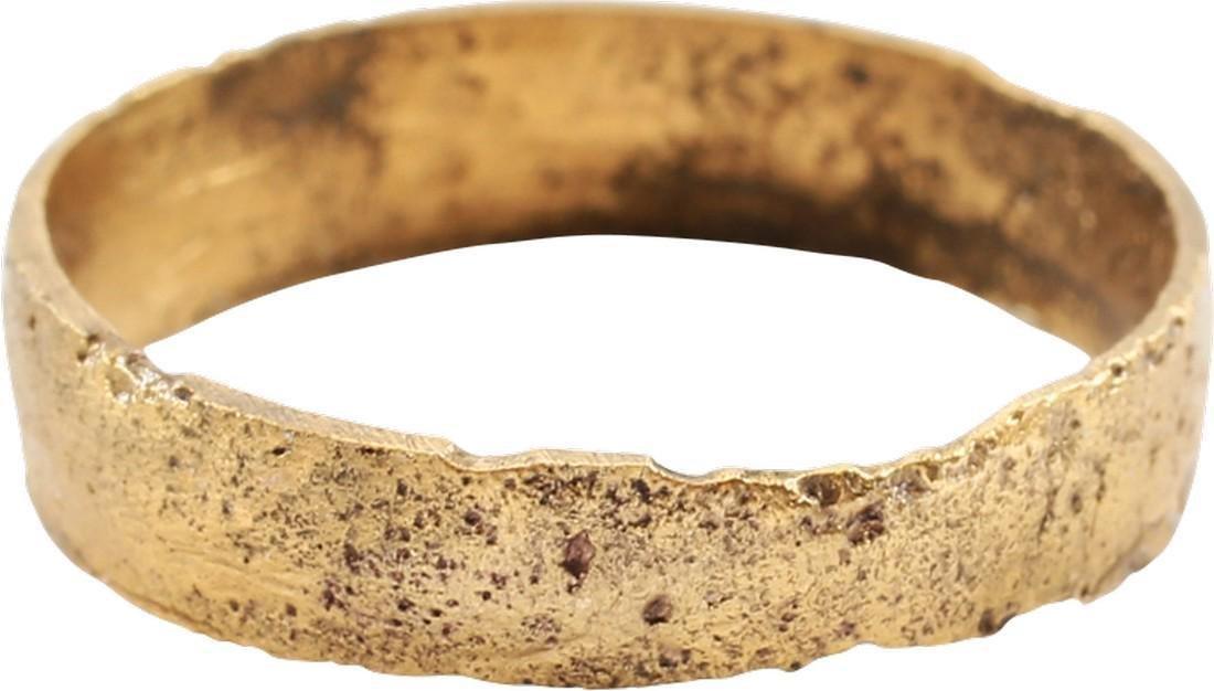 VIKING WEDDING RING C.1000 AD S7 1/4
