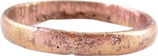 RARE VIKING WEDDING RING, 850-1050 AD JEWELRY SIZE 7 ½