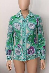 EMILIO PUCCI FLORENCE-ITALY 100% COTON 10 LORD+TAYLOR