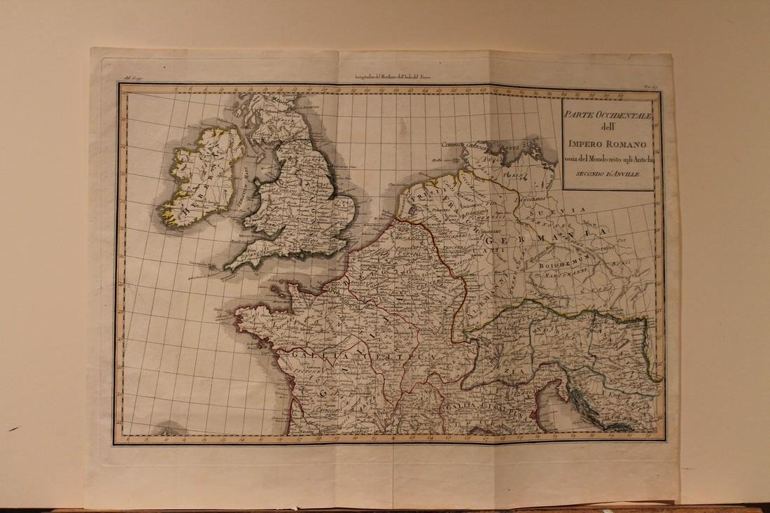 1771 Map of the English Channel