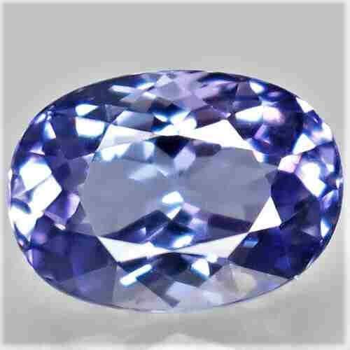1,33 ct Natural Purplish Blue Tanzanite Uheated 1,33 ct