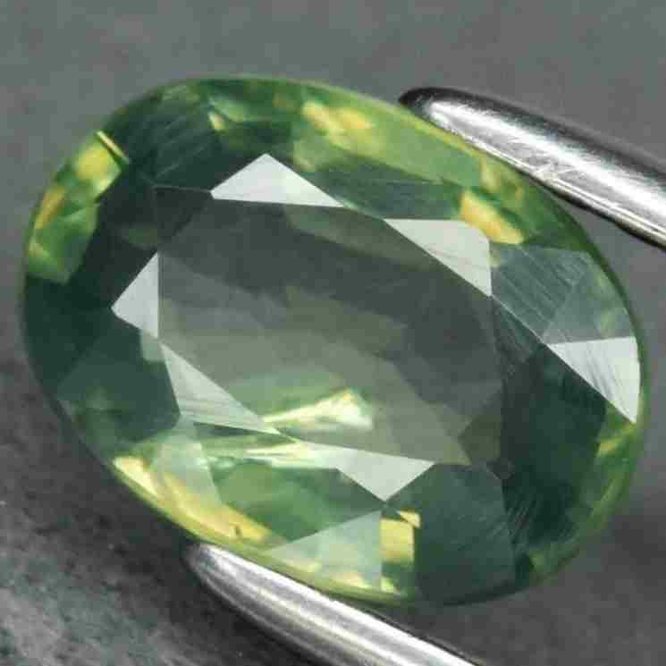 1,16 ct Natural Unheated Green Sapphire 1,16 ct