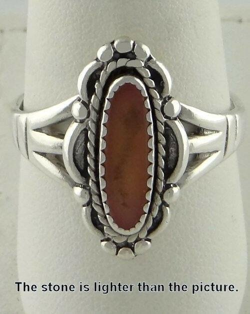 LADIES STERLING SILVER OVAL CABOCHON PINK GEMSTONE FINE
